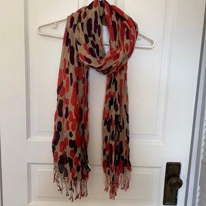 Cotton lightweight scarf